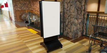 デジタルサイネージ用スタンドはどう選ぶ?
